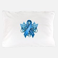 I Wear Blue for my Granddaughter Pillow Case
