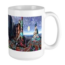 Burning Man Evening Mug