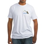 """""""Sax Man"""" Fitted cotton T-shirt (Made in"""