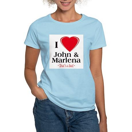 iheartjohnmarlenafact10x10 T-Shirt