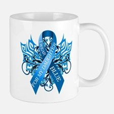 I Wear Blue for my Daughter Mug