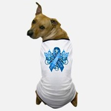 I Wear Blue for my Cousin Dog T-Shirt