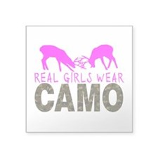 GIRL DEER HUNTER Sticker