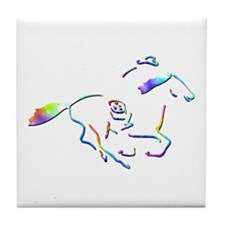 Pony Express Picture Tile Coaster