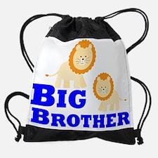 Big Brother Lion Drawstring Bag