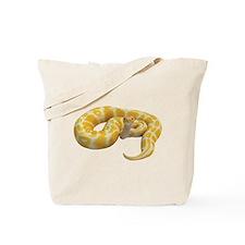 Albino Ball Python Tote Bag