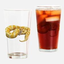Albino Ball Python Drinking Glass