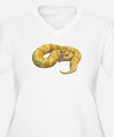 Albino Ball Python Plus Size T-Shirt