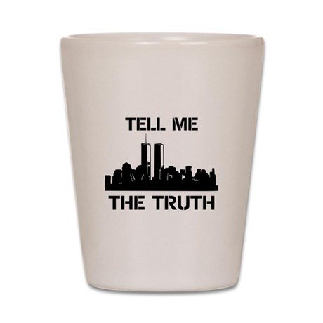 9/11 TRUTH Shot Glass