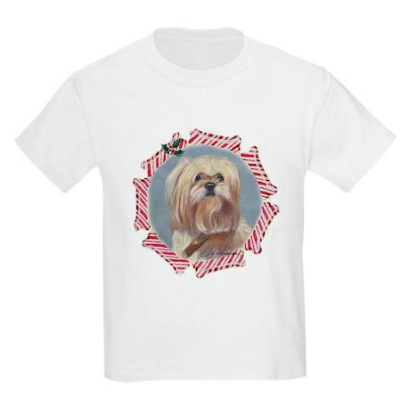 Lhasa Christmas Kids T-Shirt