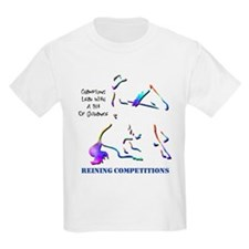 Reining Competitions Kids T-Shirt