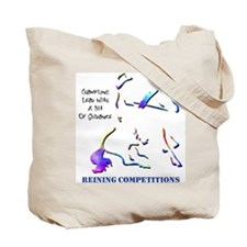 Reining Competitions Tote Bag