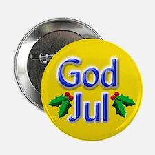 """God Jul"" Button"