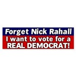 Nick Rahall Bumper Sticker