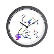 Reining Competitions Wall Clock