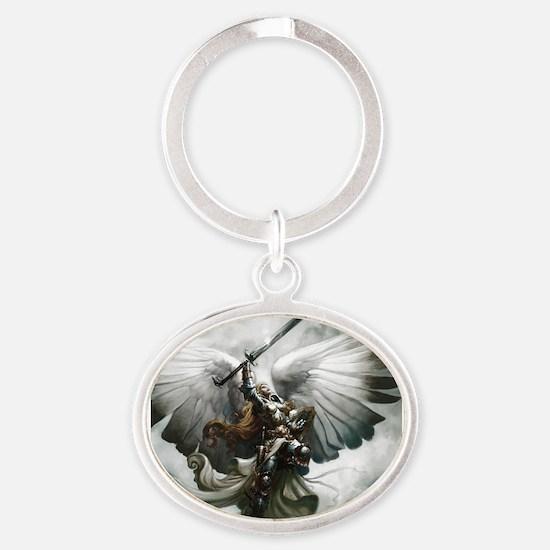 Angel Knight Keychains