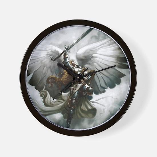 Angel Knight Wall Clock