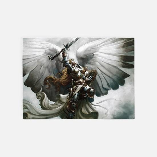 Angel Knight 5'x7'Area Rug