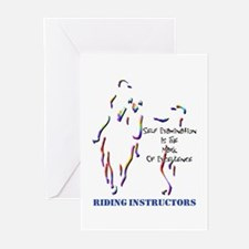 Riding Instructors Greeting Cards (Packa