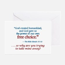 Free Choice -  Greeting Cards (Pk of 10)