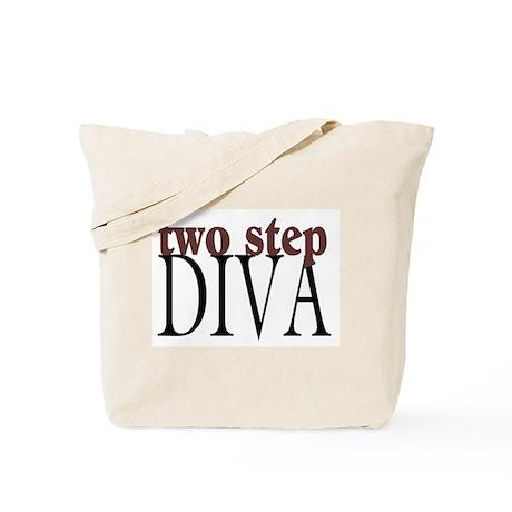 Two Step Diva Tote Bag