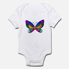 Stained Glass Butterfly Infant Bodysuit