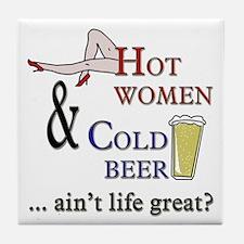 Hot Women Tile Coaster