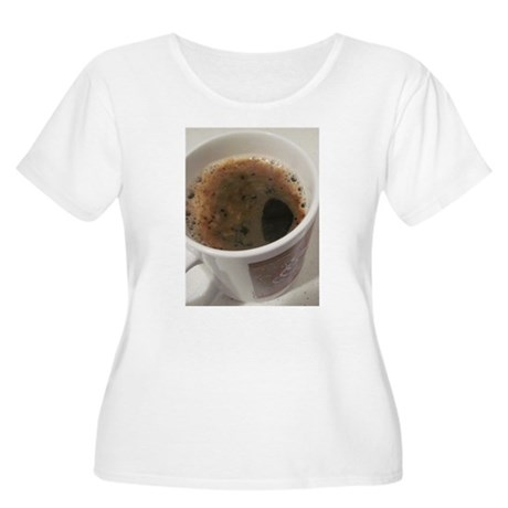 Delicious Caffeine Plus Size T-Shirt