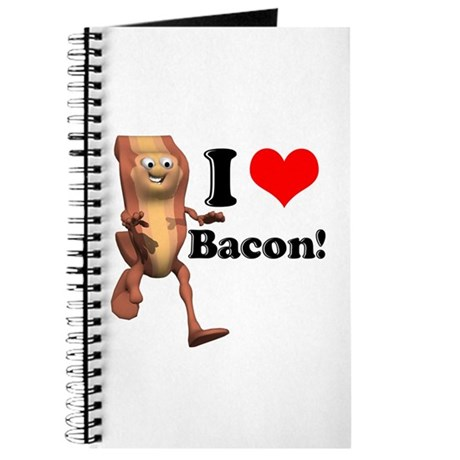 I Heart (Love) Bacon Journal