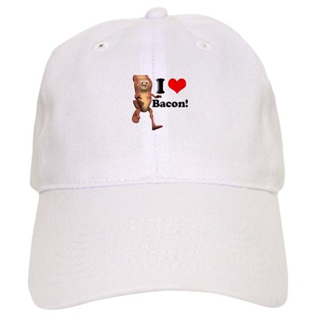 I Heart (Love) Bacon Cap