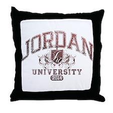 Jordan last name University Class of 2014 Throw Pi