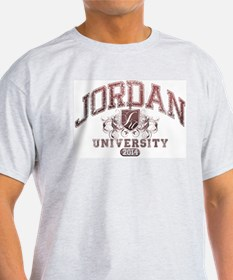 Jordan last name University Class of 2014 T-Shirt