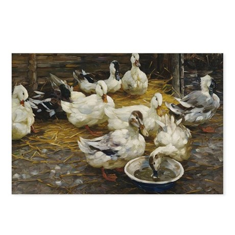 Ducks in the Barn Postcards (Package of 8)