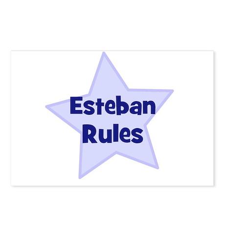 Esteban Rules Postcards (Package of 8)