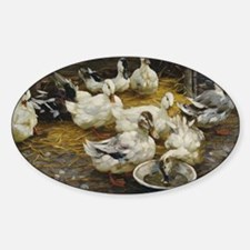 Ducks in the Barn Decal