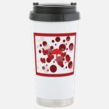 Bright Hearts Rain Stainless Steel Travel Mug Mugs