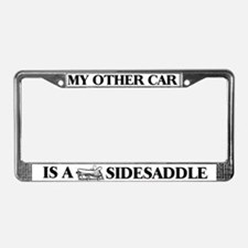 """""""My Other Car is a Sidesaddle"""" License P"""