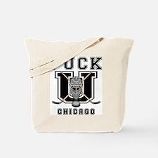 Chicago Hockey Tote Bag