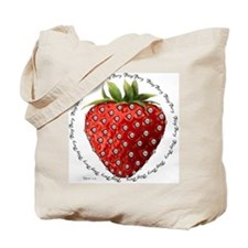 Bling Berry Tote Bag