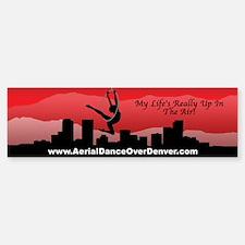 Aerial Dance Over Denver Bumper Bumper Bumper Sticker