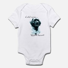 Leonberger Warm Heart Infant Bodysuit