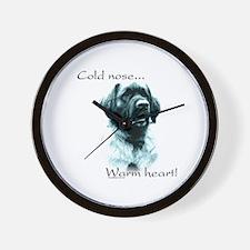 Leonberger Warm Heart Wall Clock