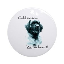 Leonberger Warm Heart Ornament (Round)