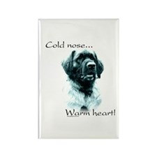 Leonberger Warm Heart Rectangle Magnet