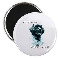Leonberger Warm Heart Magnet