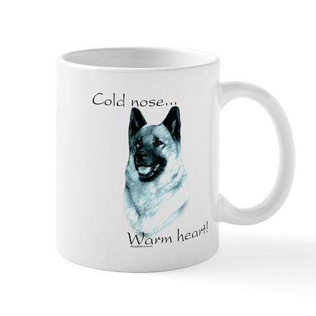 Elkhound Warm Heart Mug