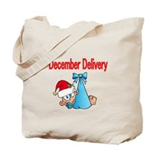 December Delivery Tote Bag