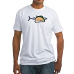 Tuna Taco Fitted T-Shirt