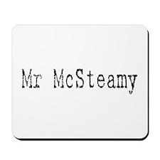 Mr. McSteamy Mousepad