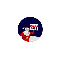 Santa for Obama 2008 Mini Button